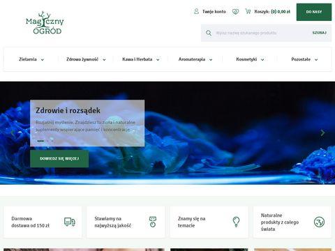 Magicznyogrod.pl - największy sklep etnobotaniczny