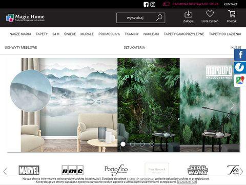 Magichome.com.pl tapeta palmy