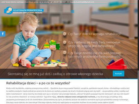 Magdapietrzak.com fizioterapia dzieci