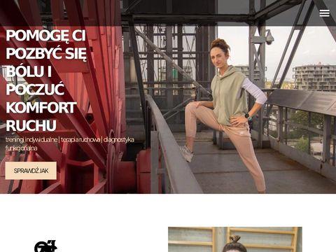 Magdaklimczak.com trening personalny katowice