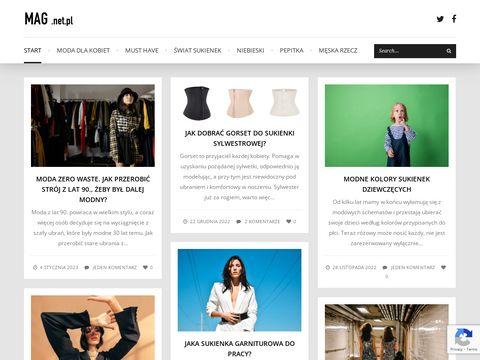 Mag.net.pl - sprawdź najnowsze trendy w modzie