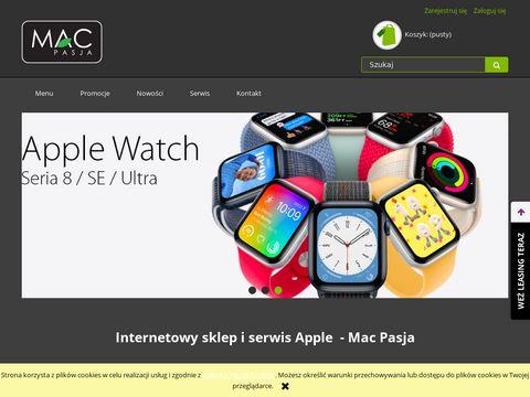 Macpasja.pl sklep apple Toruń