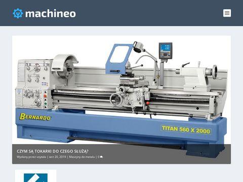 Machineo.pl - wyszukiwarka maszyn do metalu
