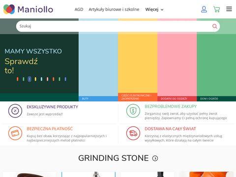 Maniolo.pl zakupy produktów z hurtowni