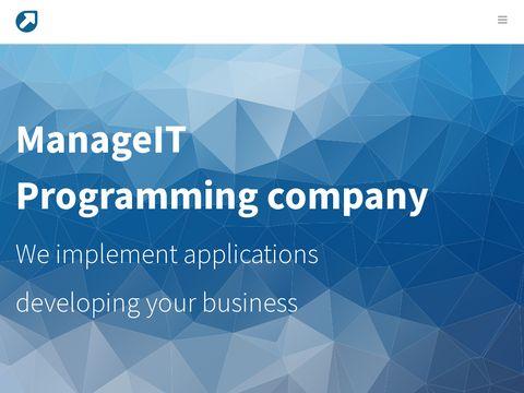ManageIT - usługi programistyczne
