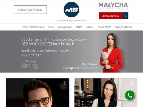 Malychabusinessfinance.com doradca kredytowy