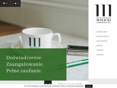 Malicki.wroc.pl - adwokat Wrocław