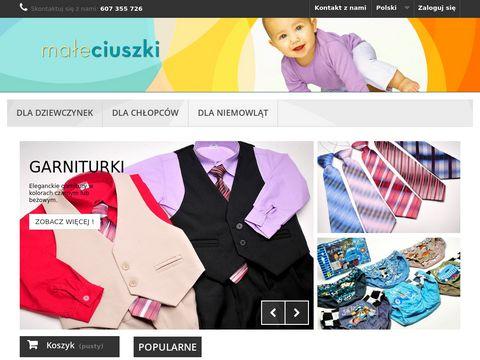Maleciuszki.com.pl - ubrania dla małych dzieci