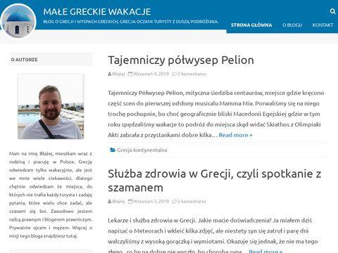 Malegreckiewakacje.pl blog turystyczny o Grecji
