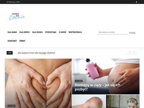 Mamanaetacie.pl blog parentingowy