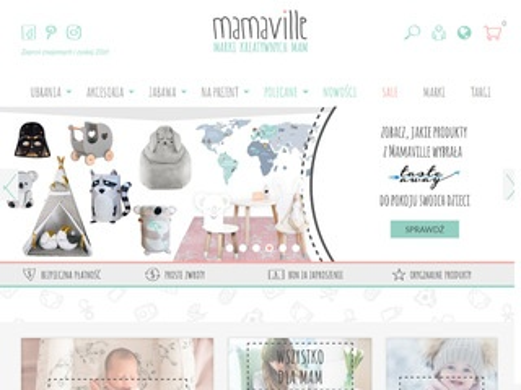 Mamaville.pl - wyprawka dla niemowlaka