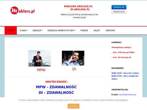SERK Maklers - kurs maklerski, nauka online i inne pomoce