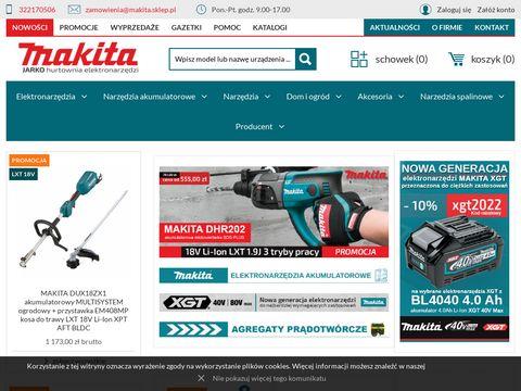 Makita - sklep, myjki, szlifierki, wiertarka
