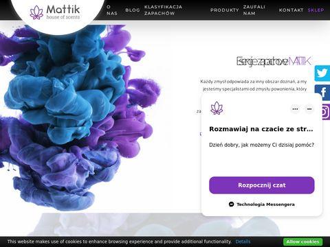 Mattik.pl aromatyzacji pomieszczeń