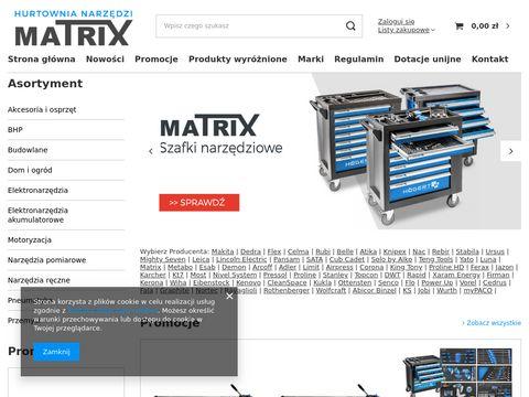 Matrixnarzedzia.pl sklep Siedlce