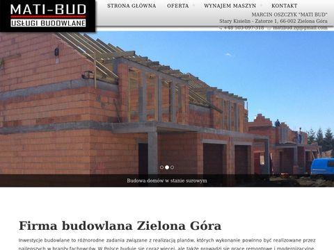 Mati-Bud pokrycia dachowe