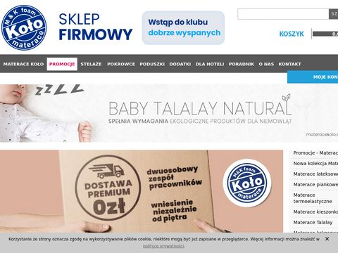 Materacekolo.sklep.pl materace do spania