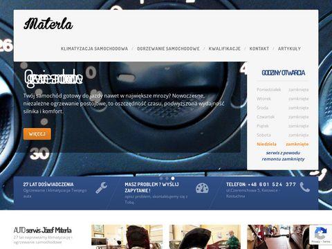 Materla.com.pl naprawa klimatyzacji samochodowej