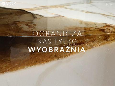Marmur Granit Kisielewski W.A. spieki kwarcowe