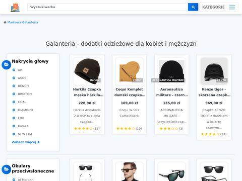 Markowagalanteria.pl - sprzedaż przez internet