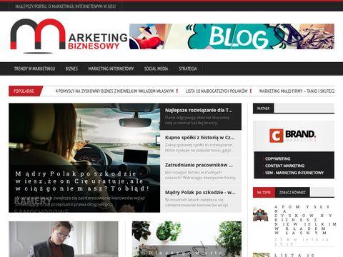 Marketingbiznesowy.pl portal marketingowy