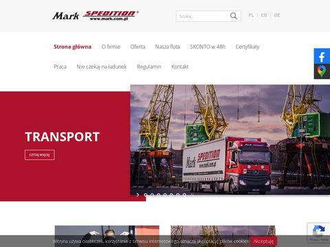 Mark Spedition transport Szczecin