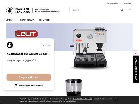 Marianoitaliano24.pl sklep z ekspresami i kawą