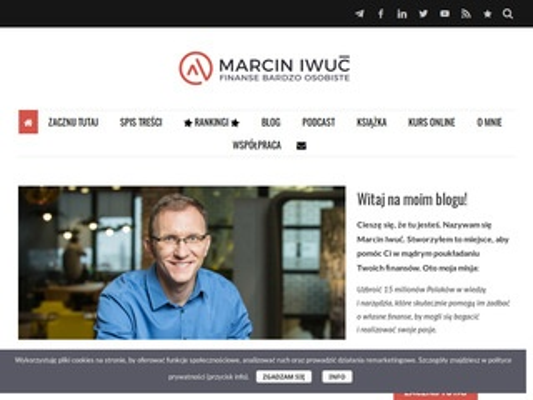 Marcin Iwuć - domowe finanse