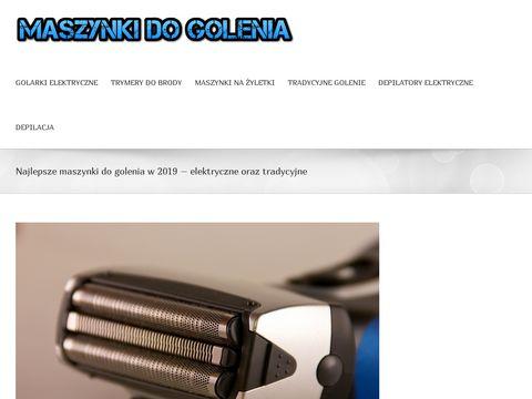 Maszynkidogolenia.pl maszynki elektryczne