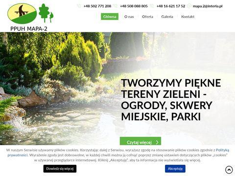 Mapa-2.pl usługi ogrodnicze Podkarpackie