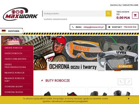 Maxwork.pl rękawice robocze