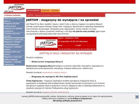 Magazyn wysokiego składowania maxima.jartom.eu