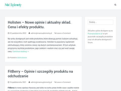 Maxisuplementy.pl dla kobiet
