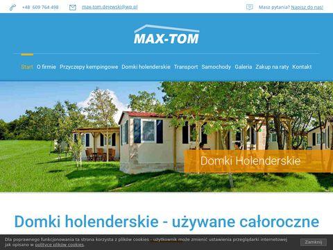 Max-tom.com domki holenderskie na sprzedaż