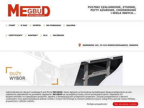 Megbud.eu - płyta ażurowa betonowa