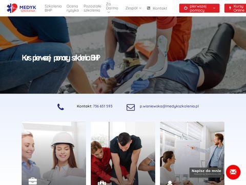 Medykszkolenia.pl kurs pierwszej pomocy Katowice