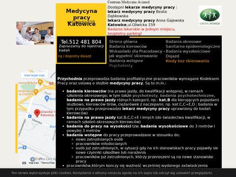 Medycynapracykatowice.pl