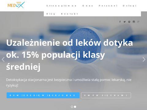 Medox-lekomania.pl - rehabilitacja psychiczna