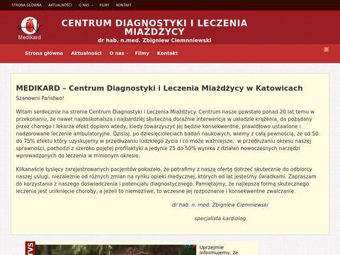 Medikard Lidia Ciemniewska angiolog Katowice