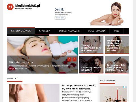 Medicinemag.pl portal medyczny nie tylko dla lekarzy