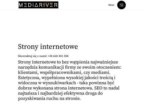 Mediariver.pl strony internetowe