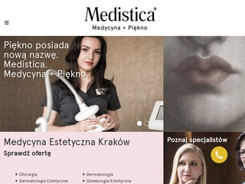 Medistica.com.pl klinika w Krakowie