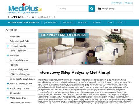 Mediplus.pl materac przeciwodleżynowy