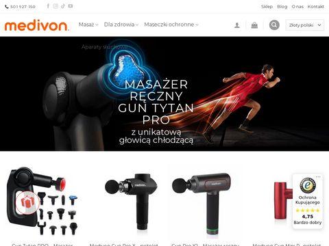 Medivon.pl masażery ręczne maty kołnierze