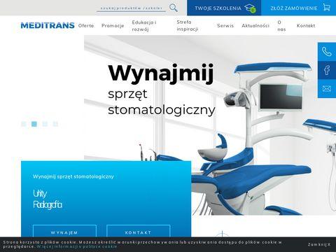 Meditrans zaopatrzenie stomatologiczne