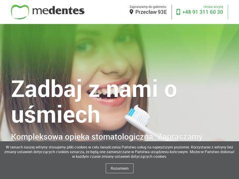Medentes.pl kliniki implantologiczne Szczecin