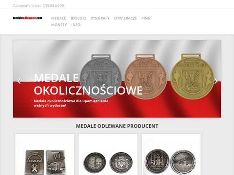 Medaleodlewane.com okolicznościowe