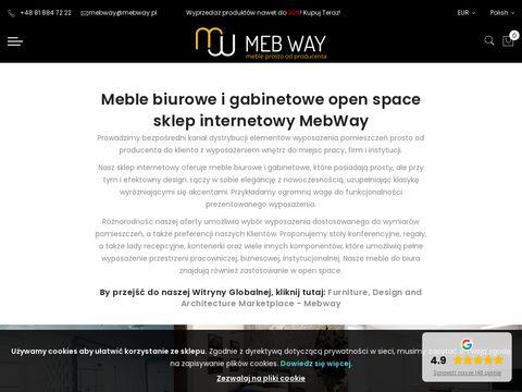 MebWay - Meble Biurowe Prosto od Producenta