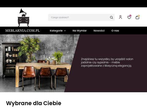 Meblarnia.com.pl meble na zamówienie vintage