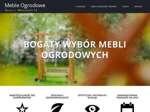 Mebleogrodowe.kalisz.pl - skład drzewny Kalisz